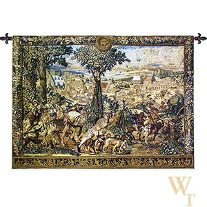 Hunts of Maximilian - Wool Tapestry