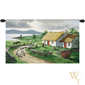Irish Countryside Grande Tapestry