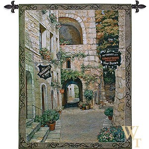 Italian Country Village Tapestry