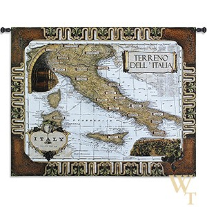 Italian Wine Country Tapestry