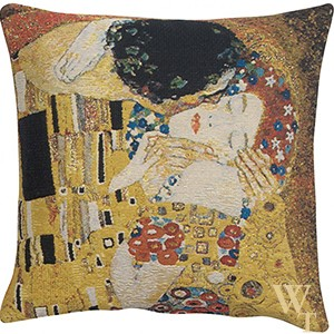 Kiss II Klimt Cushion Cover