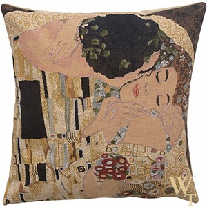 Kiss III Klimt Cushion Cover