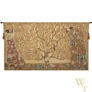 Klimt Tree of Life VI Tapestry