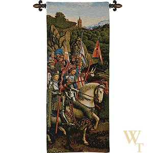 Knights Of Christ (no border) - van Eyck Tapestry