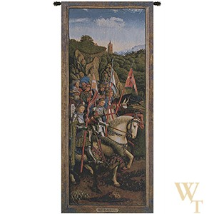 Knights Of Christ - van Eyck Tapestry