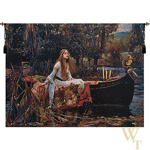 Lady of Shalott II Tapestry