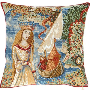 Lady of the Lake Cushion Cover