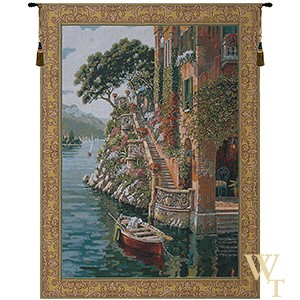 Lake Como Villa Tapestry