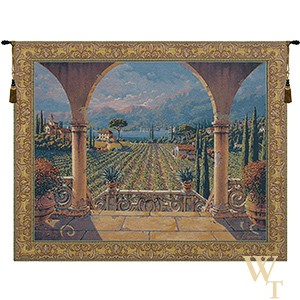 Lakeside Vineyard Tapestry