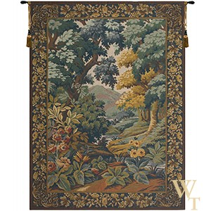 Landscape with Flowers Tapestry