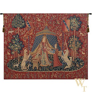 Le Desir Fonce Tapestry