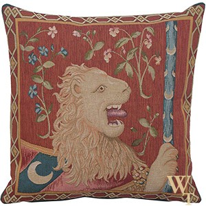 Le Lion Tapestry Cushion Cover