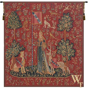 Le Toucher Fonce Tapestry