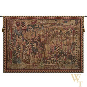 Le Tournai - Horizontal Tapestry
