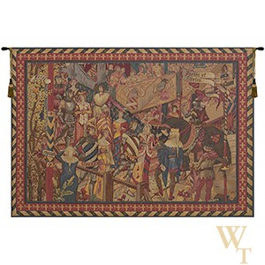 Le Tournai II - Horizontal Tapestry