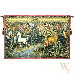 Les Chevaliers de la Table Ronde Tapestry