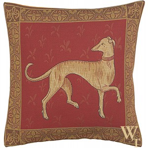 Levrier de Cluny Cushion Cover