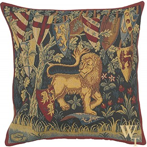 Lion Heraldique Cushion Cover