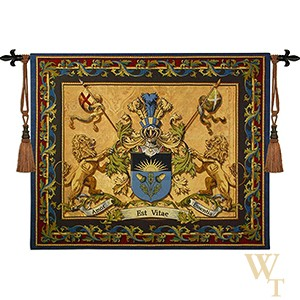 Love Strength Courage Tapestry