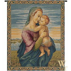 Madonna with Child - Raphael Tapestry