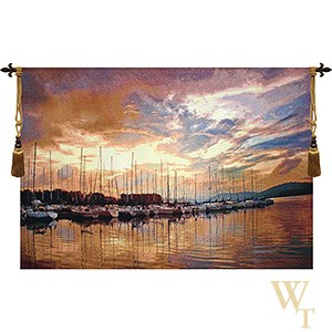 Marina Sunrise Tapestry