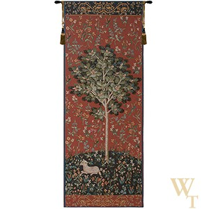 Medieval Oak Tree Tapestry