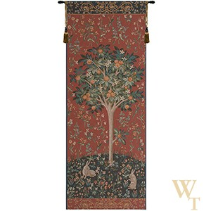 Medieval Orange Tree Tapestry
