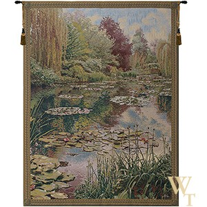 Monet Lake Giverny II Tapestry