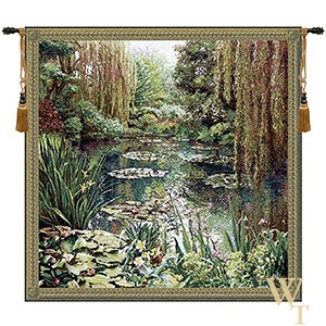 Monet Lake Giverny III Tapestry