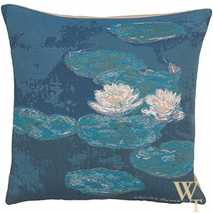 Monets Lily Pads Cushion Cover