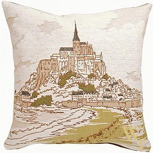 Mont Saint Michel I Cushion Cover