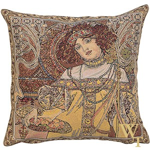 Mucha Autumn Cushion Cover
