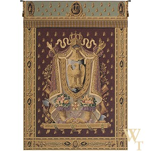 Napolean Burgundy Tapestry