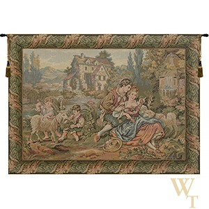 Noble Pastorale Tapestry