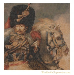 Officer of the Guard - Gericault Cushion Cover