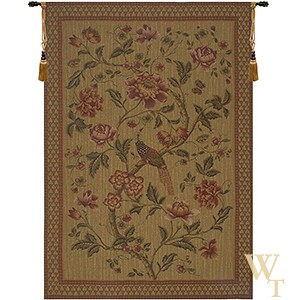 Olde World Birds of Paradise Tapestry