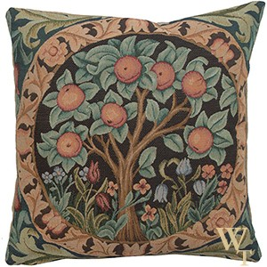 Orange Tree Cushion Cover