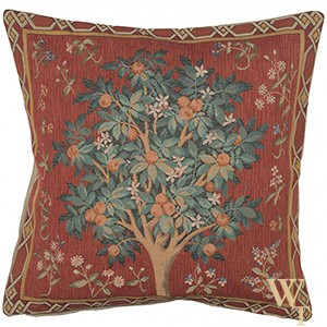 Orange Tree II Cushion Cover