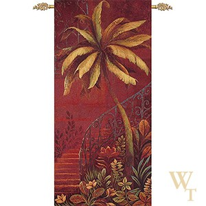 Palm Courtyard Tapestry