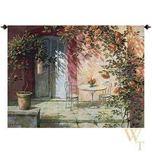 Patio Entrance Tapestry