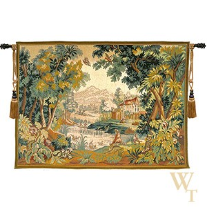 Paysage du Lauragais Tapestry
