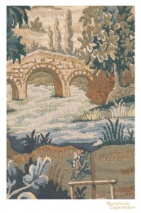 Paysage Flamand Moulin Cushion Cover