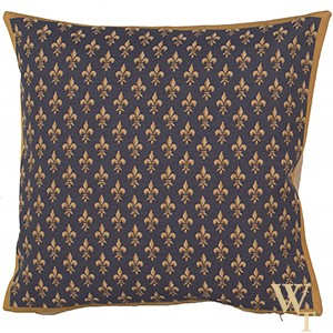 Petit Lys Bleu Cushion Cover