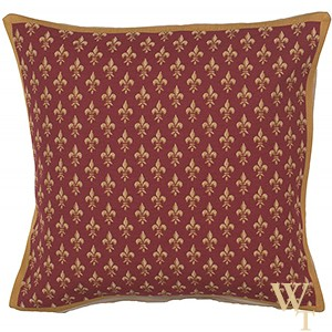 Petit Lys Rouge Cushion Cover