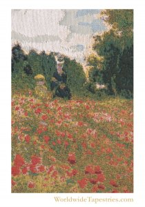Poppies Blooming - Monet