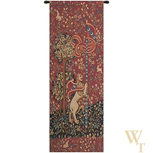 Portiere Medieval Lion Tapestry