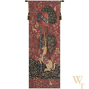 Portiere Medieval Unicorn Tapestry