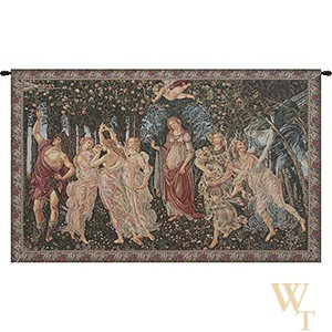 Primavera (Allegory of Spring) II - Botticelli Tapestry