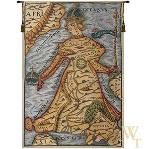 Ptolemaeus Map Tapestry