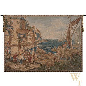Return of the Fisherman (Retour De Peche) Tapestry